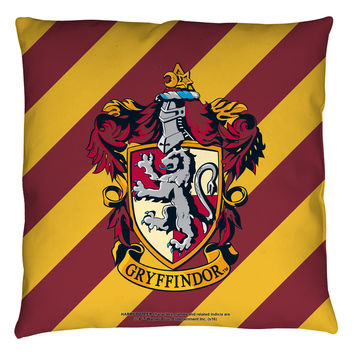 "Harry Potter ""GRYFFINDOR CREST"" 16x16 or 18x18 Throw Pillow"