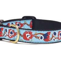 Up Country Big Poppy Dog Collar