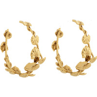 Nympheas Hoop Earrings