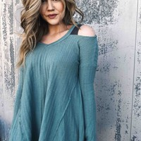 February Cold Shoulder Tunic