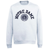 Notre Dame Fighting Irish Champion Reverse Weave Crew Sweatshirt – Gray