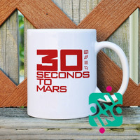 30 Seconds to Mars Coffee Mug, Ceramic Mug, Unique Coffee Mug Gift Coffee