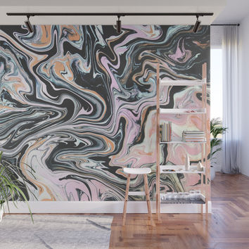 Have a little Swirl Wall Mural by duckyb