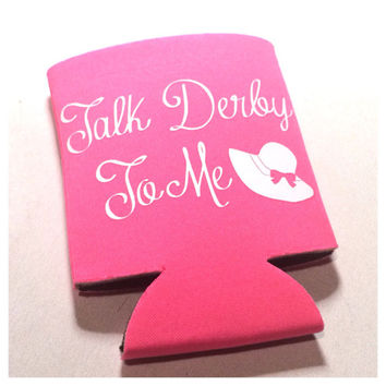 Kentucky Derby Koozie