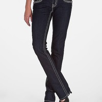 Miss Me Cross & Fleur Straight Stretch Jean