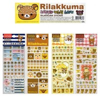 San-X Rilakkuma Sticker Package 4pcs Set $7.99