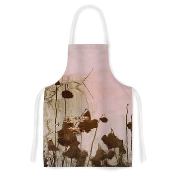 "Marianna Tankelevich ""Lotus Dream"" Flower Pink Artistic Apron"