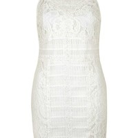 Topshop Strappy Lace Dress   Nordstrom