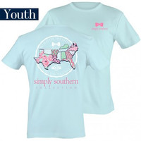 Youth- Simply Southern Preppy Tied Together