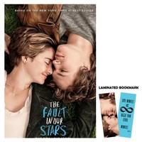 """The Fault in Our Stars (2014) Movie Poster Reprint 13"""" x 19"""" Borderless + Laminated Bookmark"""