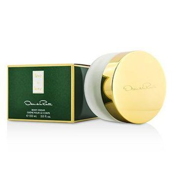 Oscar De La Renta Live In Love Body Cream Ladies Fragrance