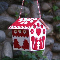 knick knacks & ric rac  » Blog Archive   » kissin' kritters kabin ornament