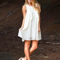 Take Me By The Hand Dress in Cream | Monday Dress Boutique
