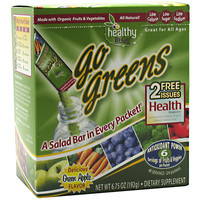 Healthy To Go! Go Greens Green Apple 24 - packets 6.75 oz (192 g)