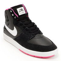 Nike SB P-Rod 7 High Black, Pink Foil, & White Shoe at Zumiez : PDP
