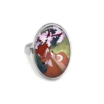 Bambi & Faline Adjustable Ring