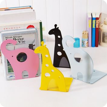 Lovely Animal Antiskid Decorative Book Stand and File Holder Bookends