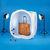The 40 Inch Foldable Photo Studio - Hammacher Schlemmer