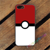 POKEMON GO POKEBALL fashion case cover cover for iphone 4 4s 5 5s SE 5c for 6 & 6 plus 6S & 6S plus #CD399