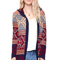 LA Hearts Hooded Maxi Cardigan at PacSun.com