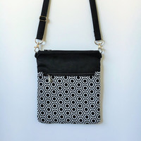 Black Crossbody bag and Purse Fall Gift for her