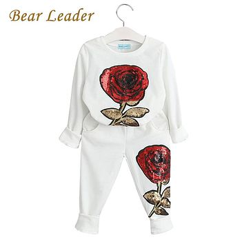 Kids Clothing Sets New Winter Girls Boys Clothes Graffiti Printing Sweatshirts Casual Pants 2Pcs for Girls Suit