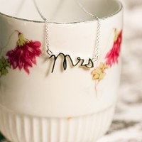 Here Comes the Bride Necklace | Necklaces | Shabby Apple