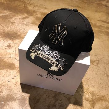 """""""New York"""" Unisex Cool Fashion Letter Embroidery Baseball Cap Couple Peaked Cap Sun Hat"""