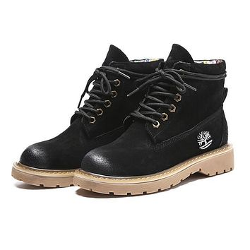 Timberland Autumn Winter New Popular Women Casual Boots Shoes Waterproof Martin Boots Brown I12999-1