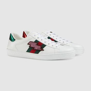 One-nice™ Gucci Ace Embroidered Low-top Sneaker I
