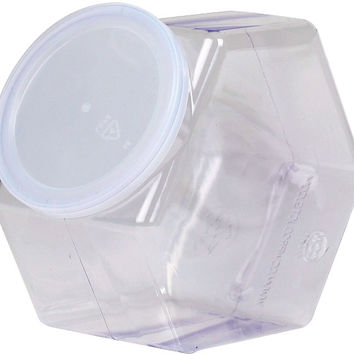 Basic Necessities Plastic Jar with Lid - 30 oz.