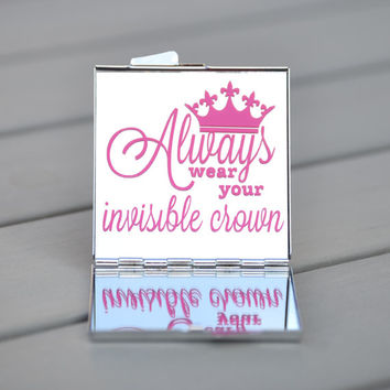Gifts under 20 | Always wear your invisible crown | Gifts for her | Stocking stuffer, birthday gift, hostess gift, gift for friends