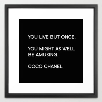Typography Print Canvas Art Coco from BellaBellaShoppe on