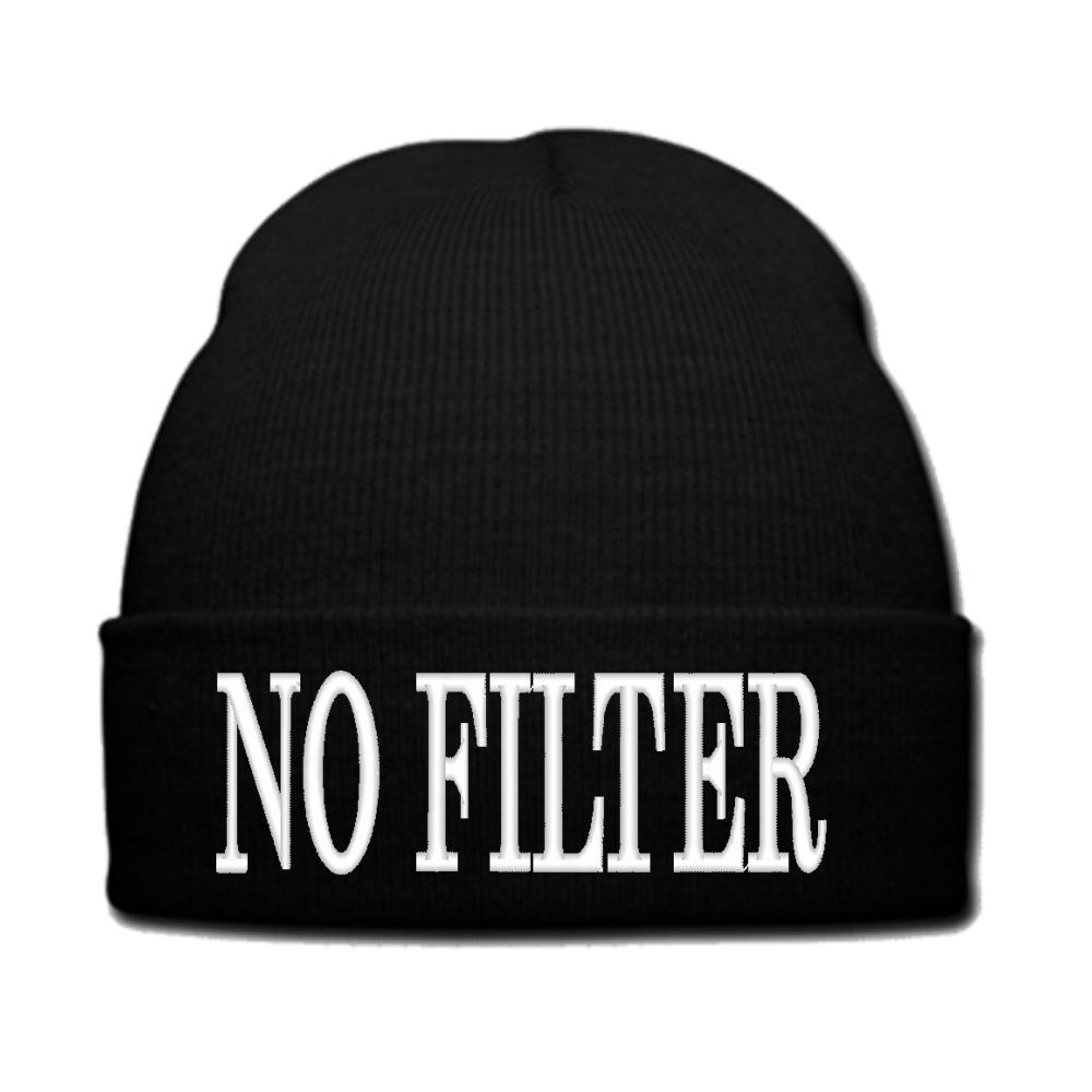 e3d7afed7df45 NO FILTER beanie or SNAPBACK hat from Teee Shop