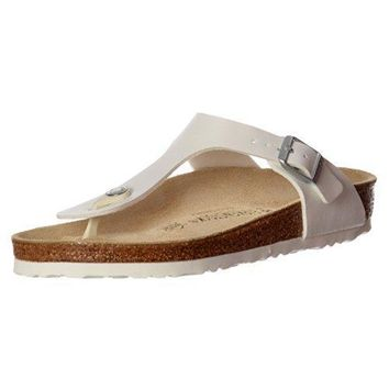 Birkenstock Women's Genuine Leather Gizeh Sandal Shoes sale sandals mayari arizona