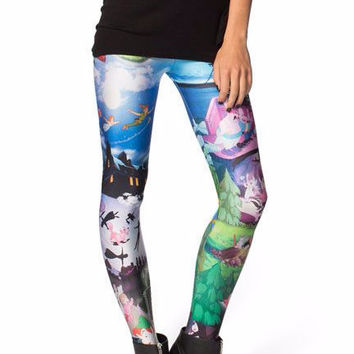 Cartoon Character Fitness Leggings