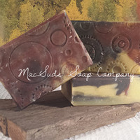 MANGO FACE Bar Natural Soap, handmade skin nourishing face bar, exfoliates and detoxes skin