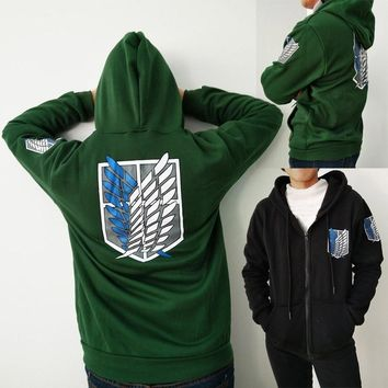 Attack on Titan Scouting Legion Wings of Liberty Hoodie