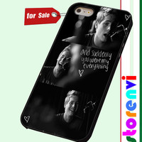 Luke Hemmings 5 Seconds Of Summer custom case for smartphone case