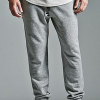 On The Byas The Varsity Fit Fleece Jogger Pants - Mens Pants - Gray