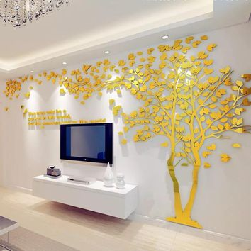 Large Tree Wall Sticker Decal (Size/Color varies)