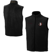 Columbia Florida State Seminoles :FSU: Flanker Full Zip Vest - Black
