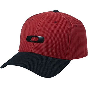 Oakley Men's Metal Gas Can Cap 2.0 Novelty Fabric, Jester Red, Large/X-Large
