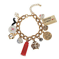 Jubilee Tea Cup Charm Bracelet - Bracelets - Jewelry - Accessories - Topshop USA