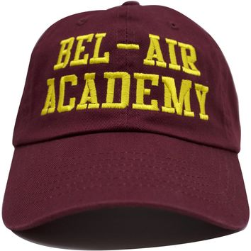 The Fresh Prince of Bel Air Will Smith Bel Air Academy Maroon Dad Hat