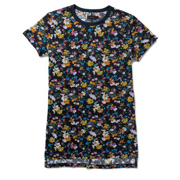DR MARTENS DARCY FLORAL T-SHIRT DRESS
