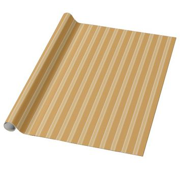Stylish Stripe Design Wrapping Paper