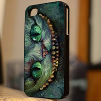 Beautiful Cheshire Cat on Alice Wonderland Available - B154 - For iPhone 5 Case, iPhone 4/4s Case