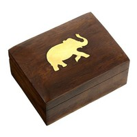 Handcrafted Jewelry Wooden Box Mothers Gift Online