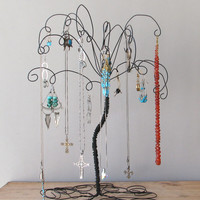 Jewelry Holder Earring Organizer Jewelry Wire Jewelry Tree Stand Earring, Rings,Bracelets, Organizer, Display